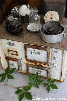 We have an old iron stove just like this
