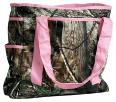 Camo Tote Bag - Realtree AP™/Pink | Bass Pro Shops
