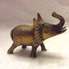 A personal favorite from my Etsy shop https://www.etsy.com/listing/463883399/vintage-solid-brass-elephant-figurine