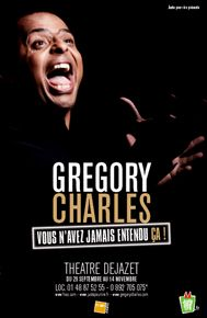 Gregory Charles au théâtre Dejazet - 2 Octobre 2009