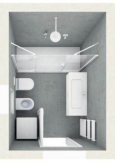 Badplanung Mit Sehr Großer Begehbarer Dusche