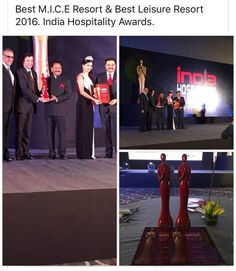 #IndiaHospitalityAwards North and East 2016 Best M.I.C.E Resort & Best Leisure Resort 2016  #HotelClarksshiraz #BestLeisureResort #BestHotel