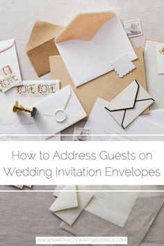 Your etiquette cheat sheet, so you can mail the good news using the correct wording. Addressing Wedding Invitations, Wedding Invitation Etiquette, Wedding Etiquette, Addressing Envelopes, Wedding Invitation Design, Wedding Stationery, Wedding Day Tips, Wedding Planning, Wedding Clip