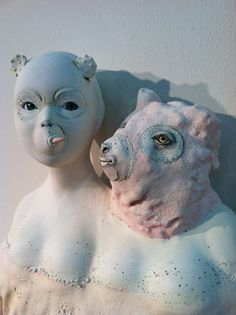 pink - sculpture - Lisa Clague