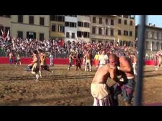 San Giovanni, Florence, June 24th Calcio Storico and Fireworks