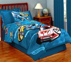 Hot Wheels Twin Comforter From Mattel Kids Bedding Sets, Luxury Bedding Sets, Hot Wheels Bedroom, Grey And Gold Bedroom, Kids Beds For Boys, Bedroom Images, Flat Bed, Buy Bed, Twin Comforter