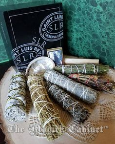 This Smudge Kit is complete with everything you will need for smoke clearing and meditation for a very long time. Upcycled wooden cigar box is full of 7 beautiful smudge wands - the most pure, natural incense. Its a great box to store your incense kit in for a very long time.