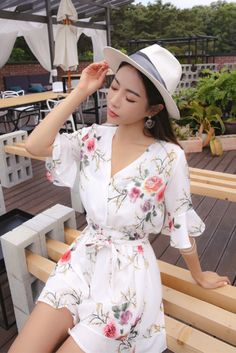 Luvi Flower Jumpsuit