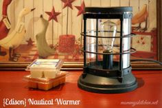 Edison Scout Electric Scented Candle Wax Warmer One Of