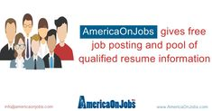 AmericaonJobs is the best job portal across USA and provides features like free classified for job posting and also help candidates to find the best job listing Free Job Posting, Job Portal, List Of Jobs, Job S, Good Job, Online Jobs, Resume, You Got This, Investing