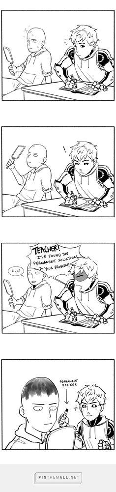 One Punch Man - Genos and Saitama - comic