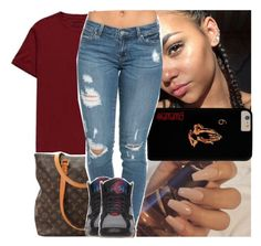 """"""""""" by lamamig ❤ liked on Polyvore featuring True Religion and Louis Vuitton"""