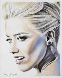 Amber Heard Chalk pastel drawing Drawing Sketches, Drawings, Drawing Board, Pastel Drawing, Chalk Pastels, Amber Heard, Artsy Fartsy, Amazing Art, Arts And Crafts