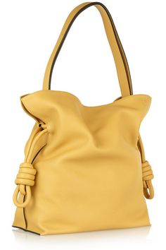 LOEWE Flamenco Knot large leather shoulder bag