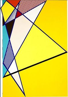 Roy Lichtenstein - Have students create angles and use protractors to measure (math)