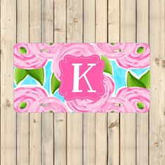 Personalized License Plate | Custom License Plate | Monogram License Plate | Car Decor  #PersonalizedPlate #personalized #CarDecor #PersonalizedLicense #MonogramCarTag #PersonalizedGift #MonogramPlate #CustomLicensePlate #CustomPlate #LicensePlate