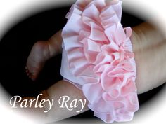 Beautiful Parley Ray Precious in Pink Ruffled Baby Bloomers/
