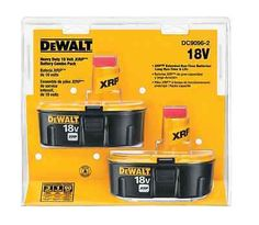 DEWALT 2-Set 18V Max Battery Kit 4 cordless li ion drill driver tool kit 1/2 in