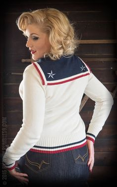 Rumble59 Ladies - Cardigan - Sailor's Maid