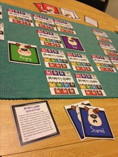 Cute Dog Emotion Memory Game: https://www.teacherspayteachers.com/Product/Emotions-Feelings-Memory-Game-with-Dog-Faces-2929093