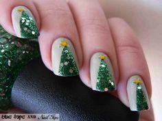 Blog.makezine.com - Manicure Sapin de noel