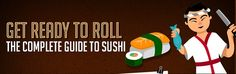 The complete guide to sushi in one handy picture Japanese Food Sushi, Japanese Recipes, Ready To Roll, Japanese American, Bento, Food Ideas, Pictures, Kitchens, Photos