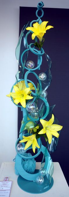 2014 Yellow Daisy Show in Stone Mountain, Georgia - Creative Design - Splish Splash -