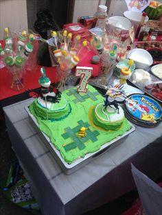 pokemon gym battle cake
