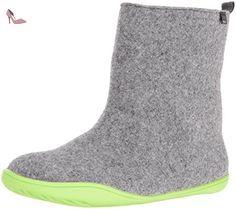 Camper Wabi, Bottes Chelsea Femme, Gris (Dark Gray 025), 40.5 EU - Chaussures camper (*Partner-Link)