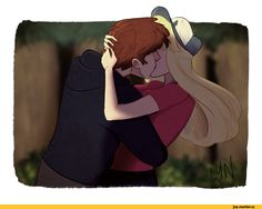 love this art ...dipper and pacifica