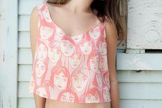 Leah Goren silk blouse.