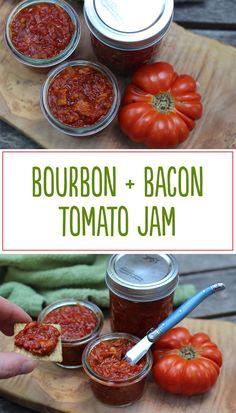 bourbon, bacon + tomato jam | cody uncorked
