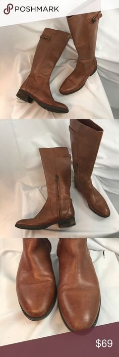 Sam Edelman sz7 Patton Riding Boots.. Good used condition Sam Edelman sz7 Patton Riding Boots..toes show some light scuffing...soles have some wear-see Picts...overall still a great pair of boots...looks great paired with a floral sundress... Sam Edelman Shoes Heeled Boots