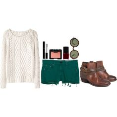 """""""Fall shorts yeah"""" by paige-maccready on Polyvore"""