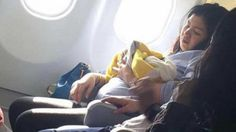 """An airline passenger's photo has gone viral after she posted a snapshot of a fellow traveler holding the baby she gave birth to while 36,000 feet in the sky. """"You could call it an uneventful flight, if you want to ... but it wasn't,'"""" Missy Berberabe Umandal of Makati, Philippines, wrote to ABC News today. Umandal said she was flying home with her mother via Cebu Pacific Airlines to the Philippines from Dubai, when a woman went into labor merely """"feet"""" away from her."""