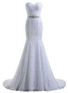 ModeC Women's Sweetheart Lace Bridal Dress with Sash Wedd... https://www.amazon.com/dp/B01HZCHA4E/ref=cm_sw_r_pi_dp_cMyLxb088AJW5
