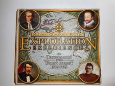 2007 National Geographic Society hardcover in slipcase with over 30 removable historic facsimiles and CD-ROM containing 35 rare archival maps from the Royal Geographical Society. Slipcase measures x x National Geographic Society, Explore, Map, Baseball Cards, Location Map, Maps, Exploring