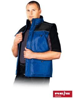 BEZRĘKAWNIK OCIEPLANY ARIZONA NIEBIESKI+CZARNY - INTERNETOWY SKLEP BHP - artykuły i sprzęt bhp, odzież robocza, środki ochrony indywidualnej