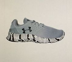 BOYS UNDER ARMOUR FLOW RUNNING SHOES YOUTH SIZE 7 NIB