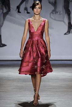 Lela Rose Spring 2015 Ready-to-Wear Fashion Show: Complete Collection - Style.com