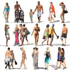 Texture Other resort people beach Painting People, Drawing People, Figure Painting, People Cutout, Cut Out People, Photoshop Rendering, Photoshop Elements, Pp Pool, Photo Reference