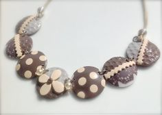 Necklaces by FREDERIQUE CAMBUZAT   Polymer Clay Planet