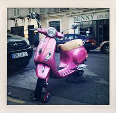 Moto rosa Barbie
