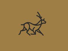 Fallow deer dribbble logos design, logo deer ve logo inspira Best Logo Design, Branding Design, Brand Identity Design, Icon Design, Graphic Design, Identity Branding, Corporate Branding, Deer Design, Animal Design