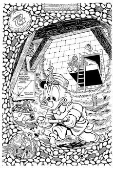 Scrooge Mcduck By Don Rosa Disney Coloring Pages Family