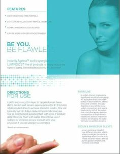 Instantly Ageless en Español New product sheet 2015 Fountain Of Youth, Without Makeup, Anti Wrinkle, Anti Aging Skin Care, What Is Like, Facebook, Board, Magic, Google Search