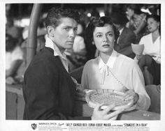 "Farley Granger and Ruth Roman - ""Strangers on a Train""  1951"