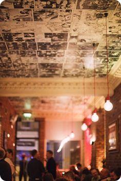 comic strip ceiling