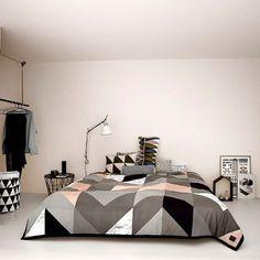 Arrow Bed Cover Ferm Living #bedroom