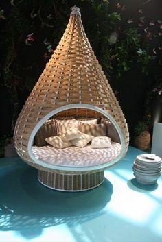 dedon nestrest h ngesessel in exterieur pinterest h ngematte zu hause und outdoor. Black Bedroom Furniture Sets. Home Design Ideas
